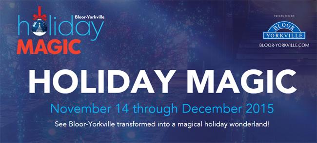 梦幻假日Holiday Magic,点亮2015的圣诞